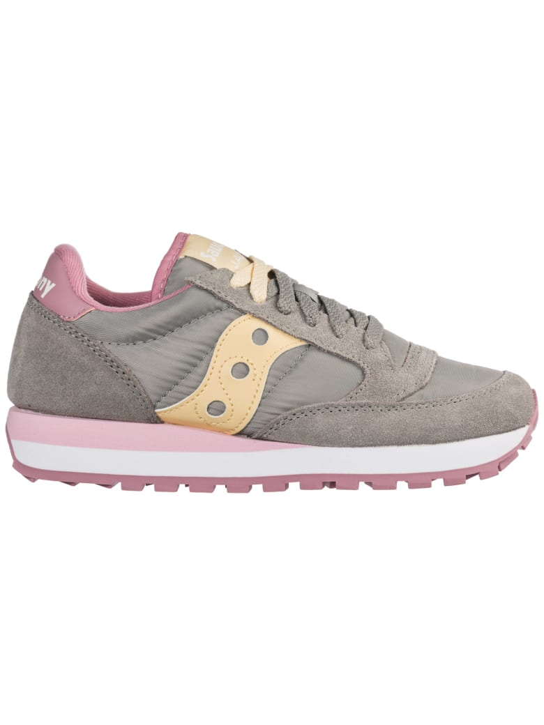 Saucony  Shoes Suede Trainers Sneakers Jazz O - Grigio