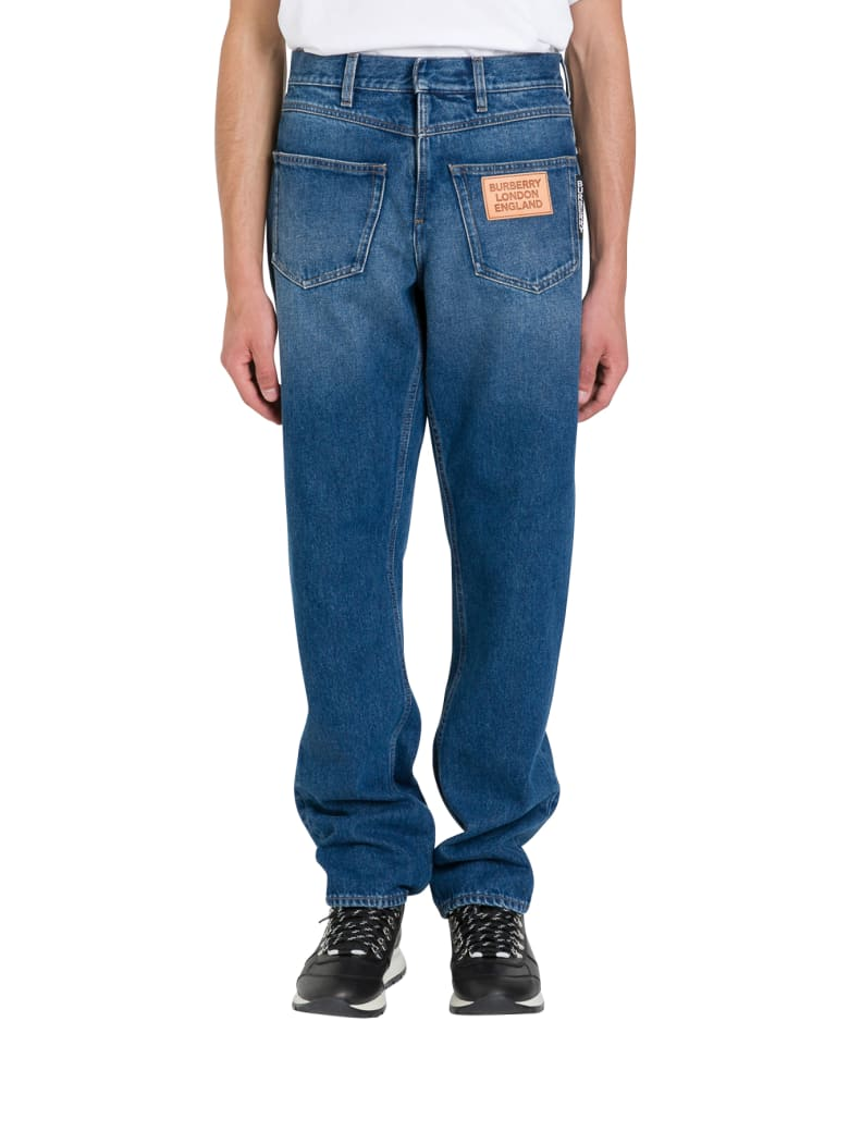 Burberry Workwear Deconstructed Jeans - Blu