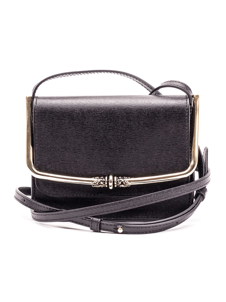 L'Autre Chose Lautre Chose Leather Shoulder Bag - BLACK