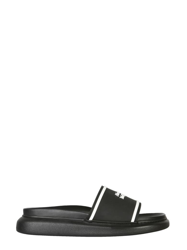 Alexander McQueen Hybrid Signature Oversize Sandals - Nero