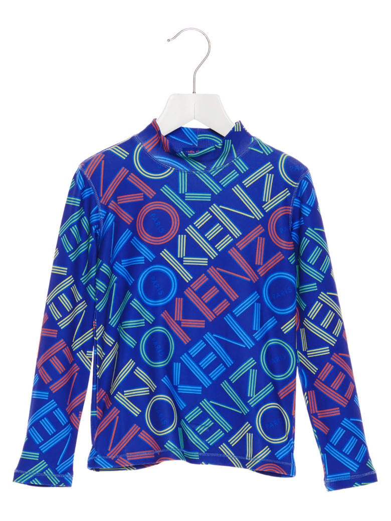 Kenzo Kids 'activewear' T-shirt - Blue