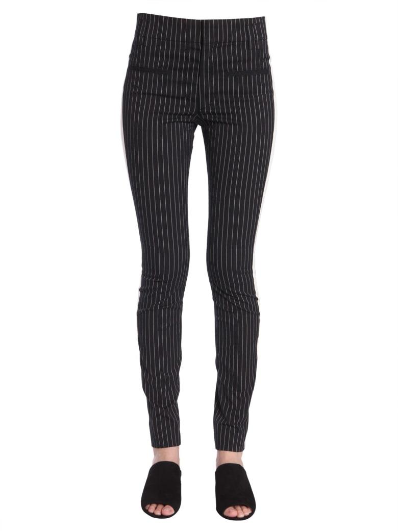 Haider Ackermann Slim Fit Pinstriped Trousers - NERO