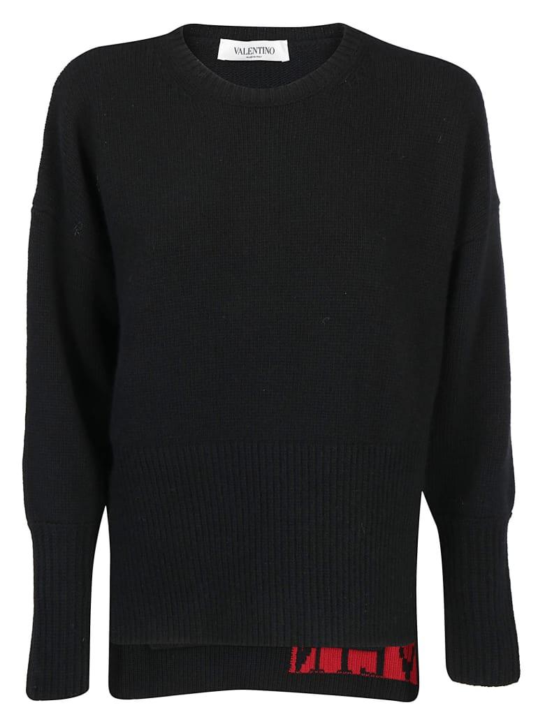 Valentino Knitwear - Nero/rosso