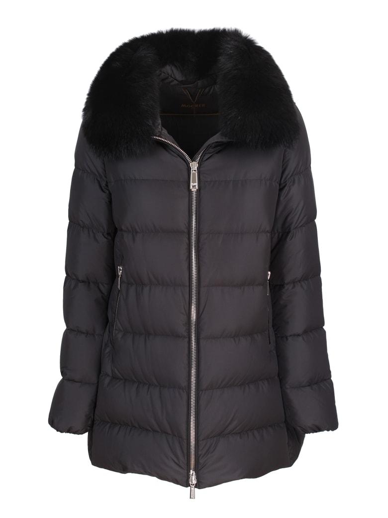 Moorer padded jacket - Nero
