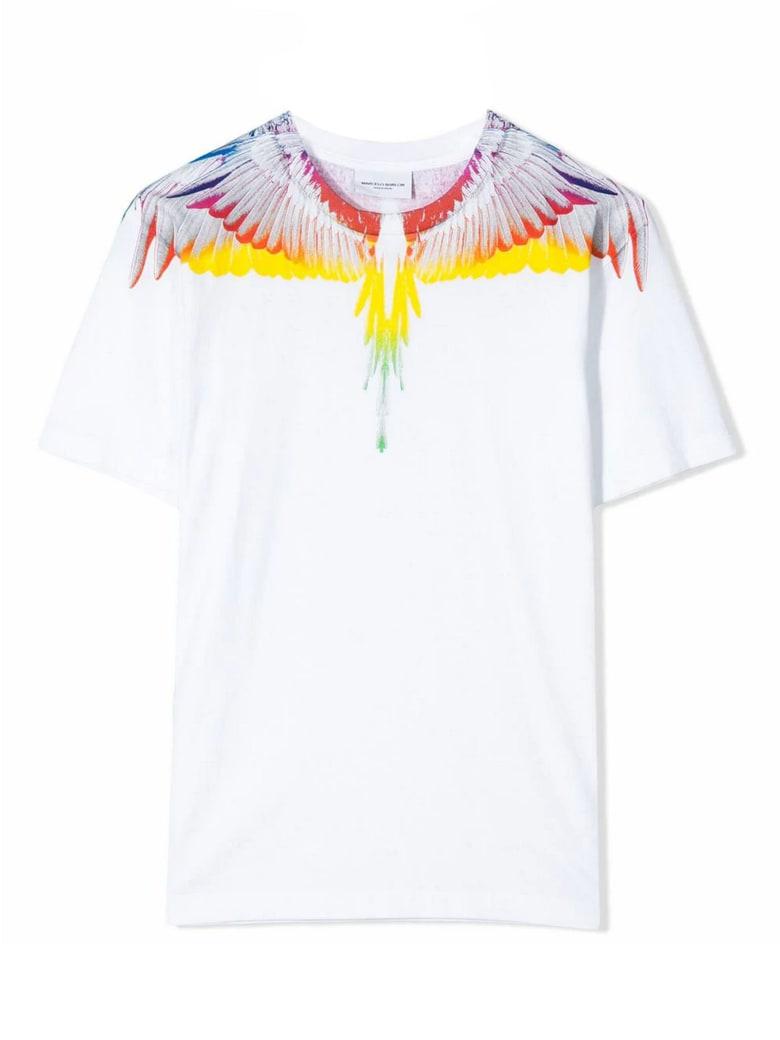 Marcelo Burlon White Cotton T-shirt - Bianco