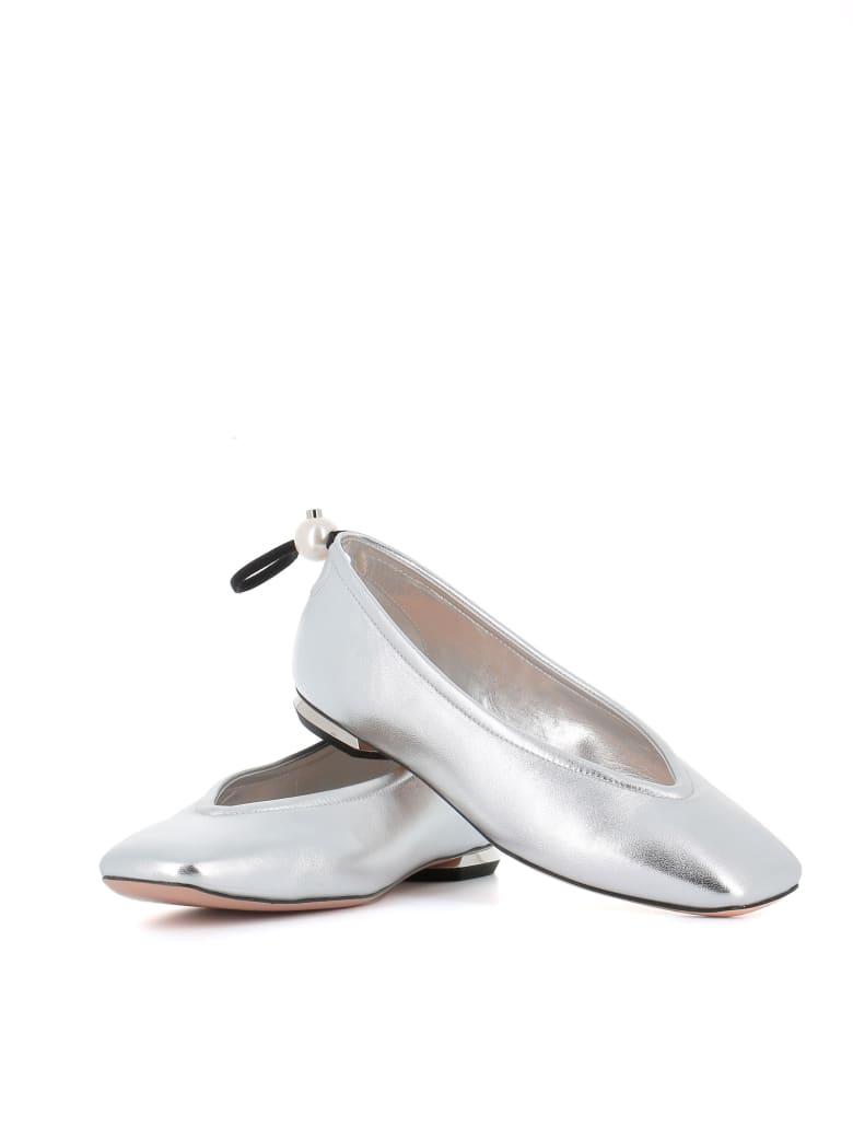 "Nicholas Kirkwood Ballerina ""delfi"" - Silver"