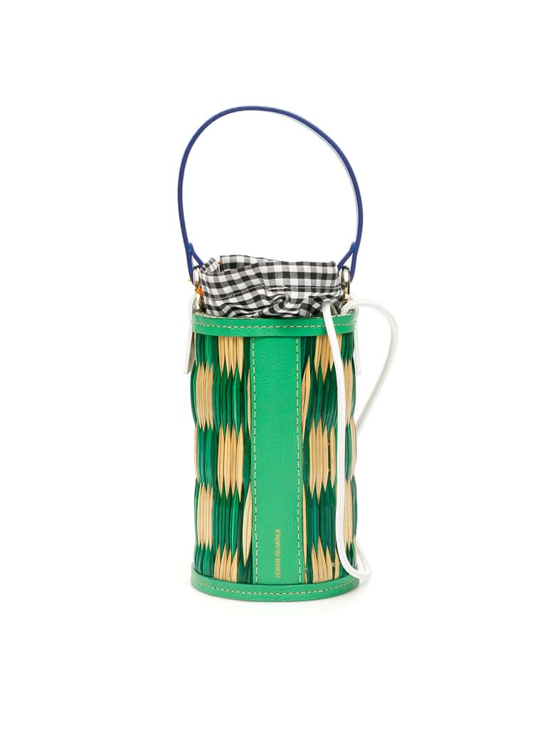 Heimat Atlantica Cupido Cylindrical Bucket Bag - NATURAL GREEN (Beige)