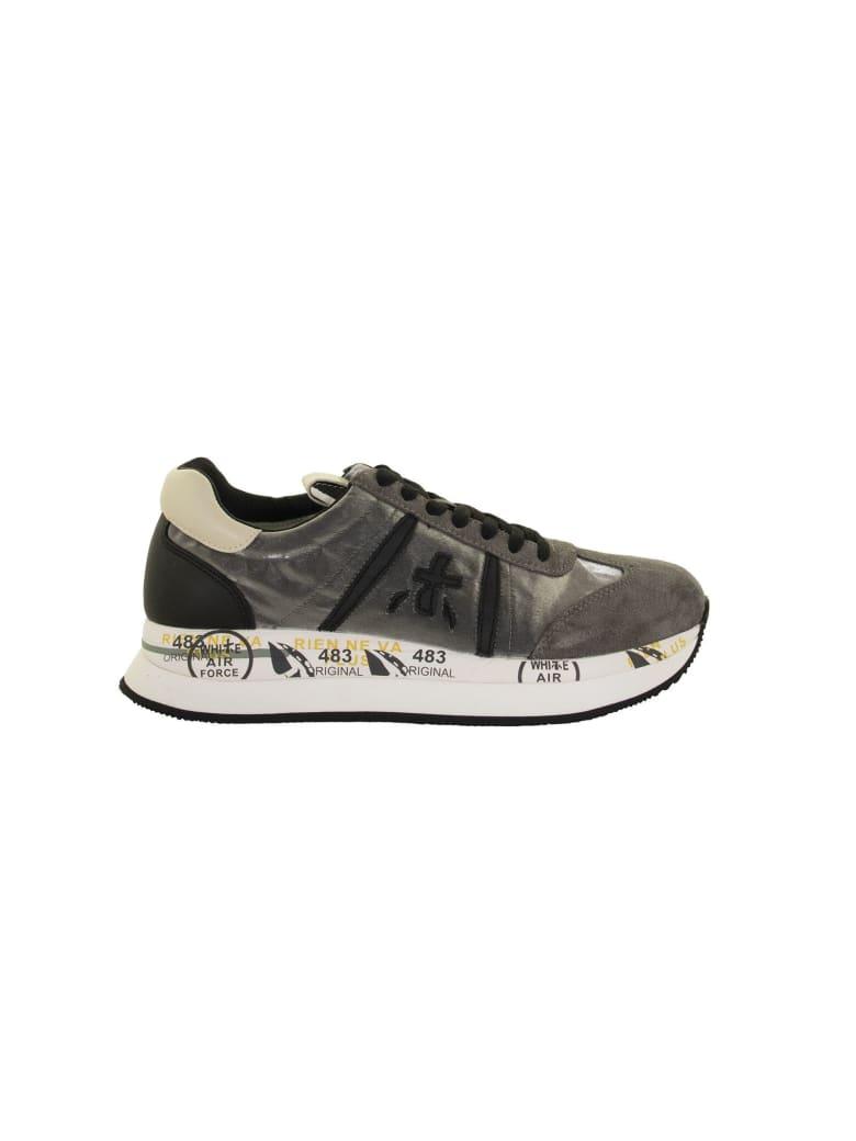 Premiata Silver Sneakers - Gray