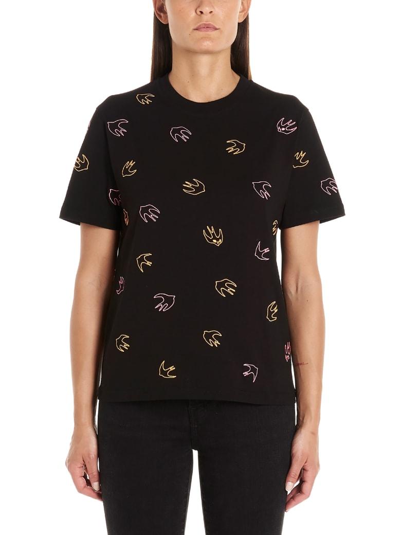 McQ Alexander McQueen 'swallow' T-shirt - Black