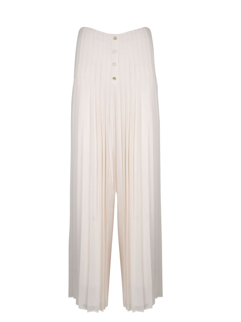 Edward Achour Paris Folded Trousers - White