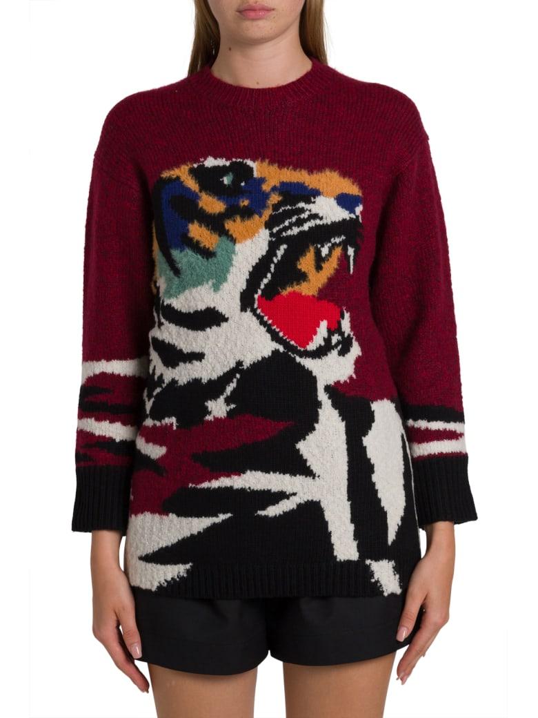 Kenzo Tiger Intarsia Sweatshirt - Blu