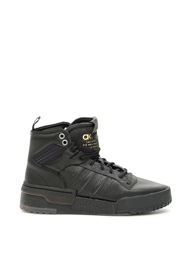 Adidas Rivalry Rm Hi-top Sneakers - CBLACK CARBON GRESIX (Black)