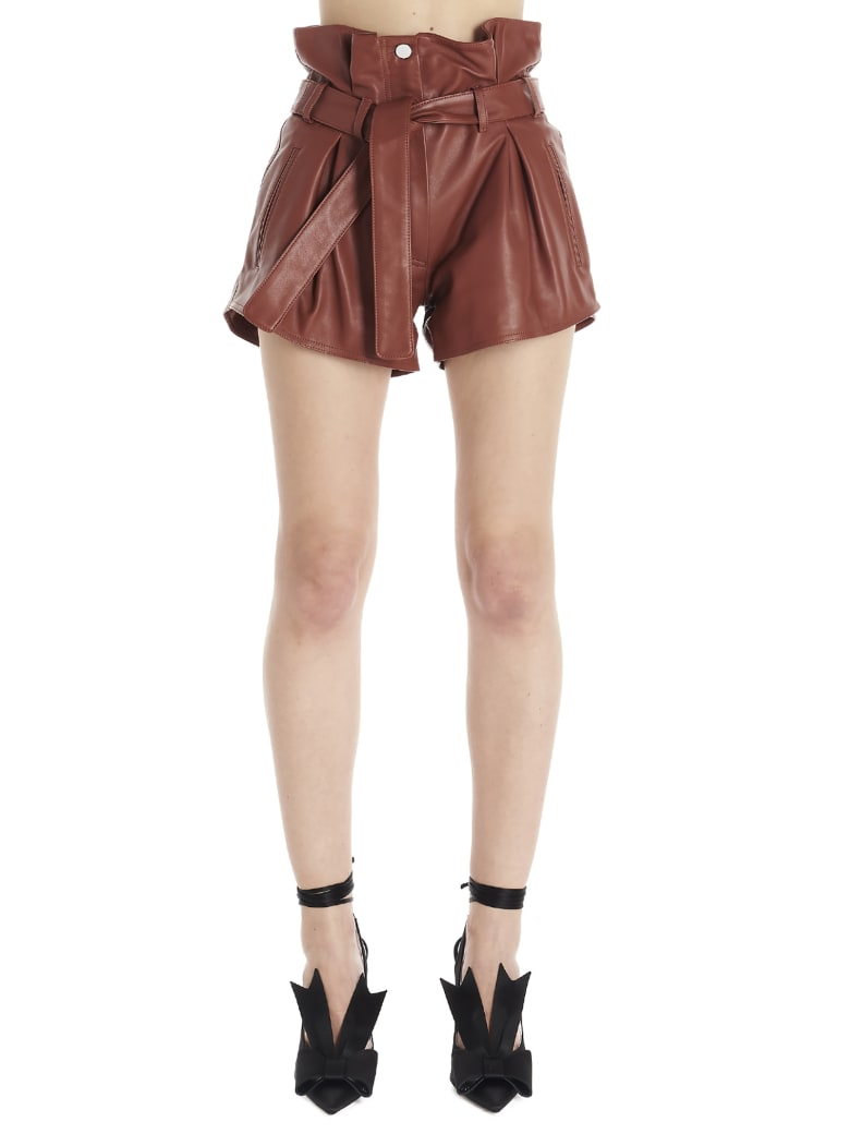 The Attico Shorts - Brown
