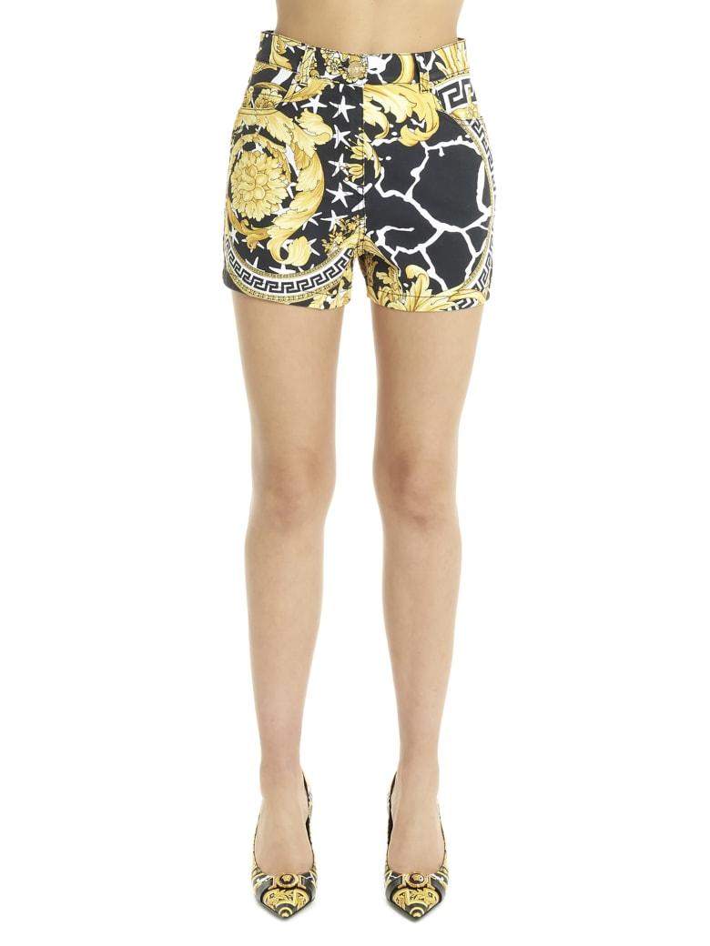 Versace 'wild Barocco' Shorts - Multicolor