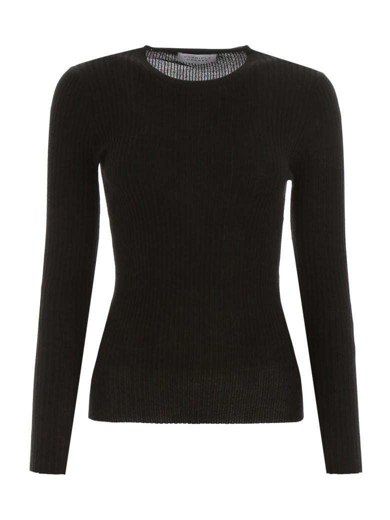 Gabriela Hearst Browning Knit - BLACK NAVY (Black)