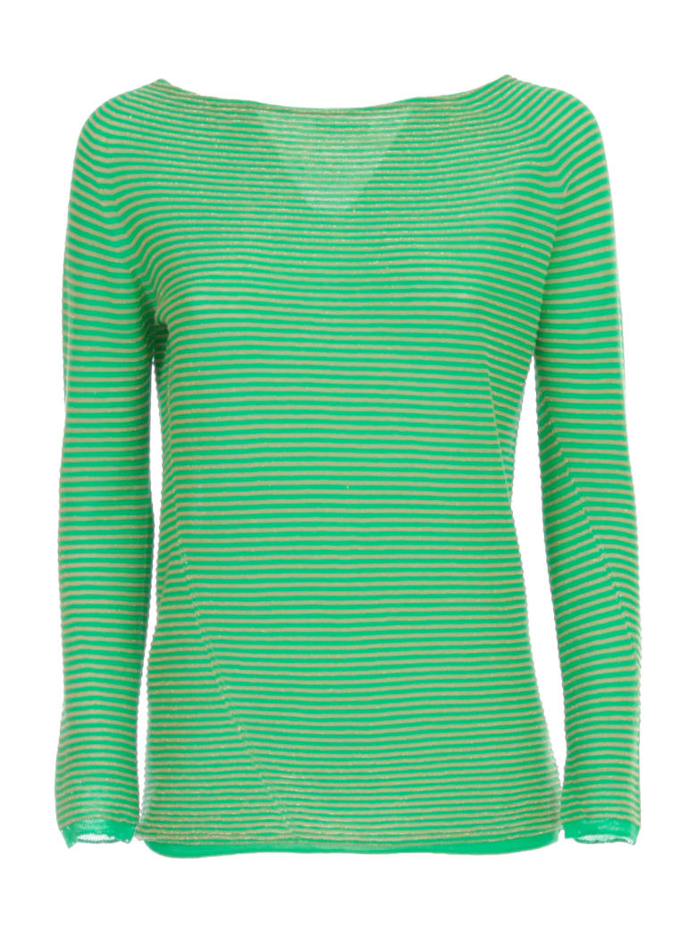Archiviob Tubular Sweater Glitter - Verde