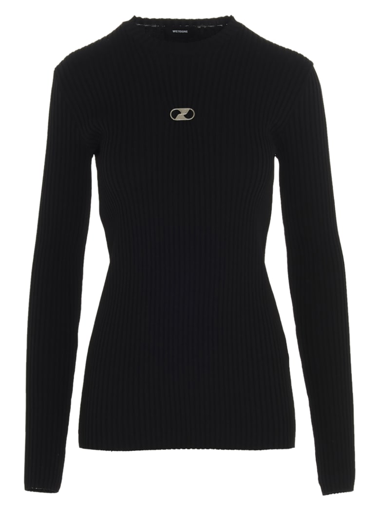 WE11 DONE Sweater - Black