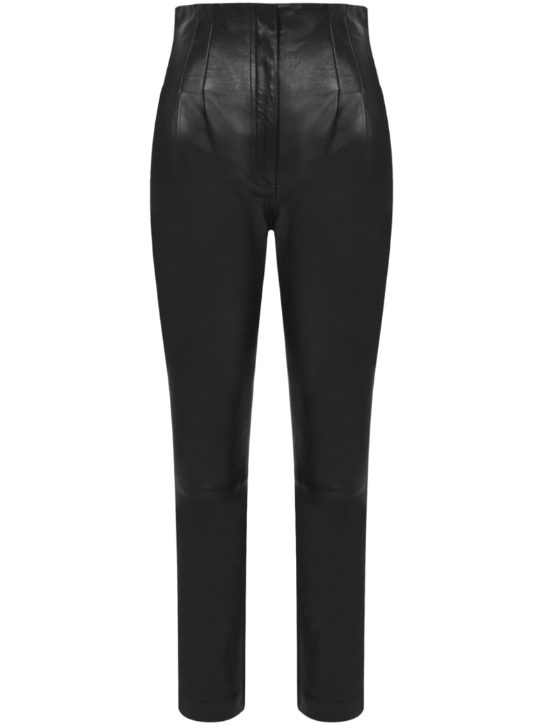 Alberta Ferretti Trousers - Black