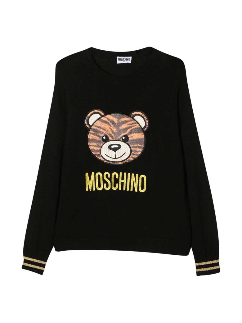 Moschino Black Teen Sweater - Nero