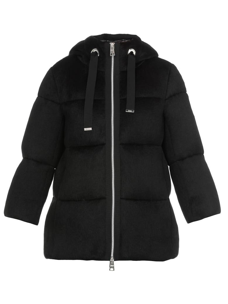 Herno Quilted Jacket - BLACK