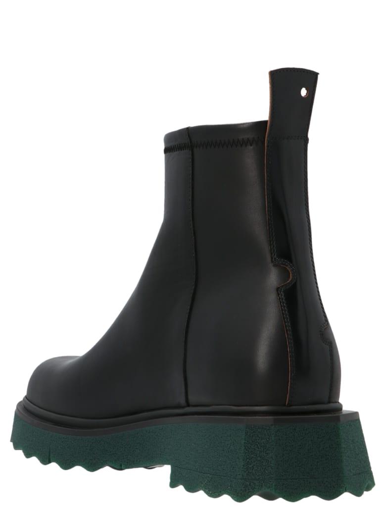 Off-White 'sponge Sole' Shoes - Black