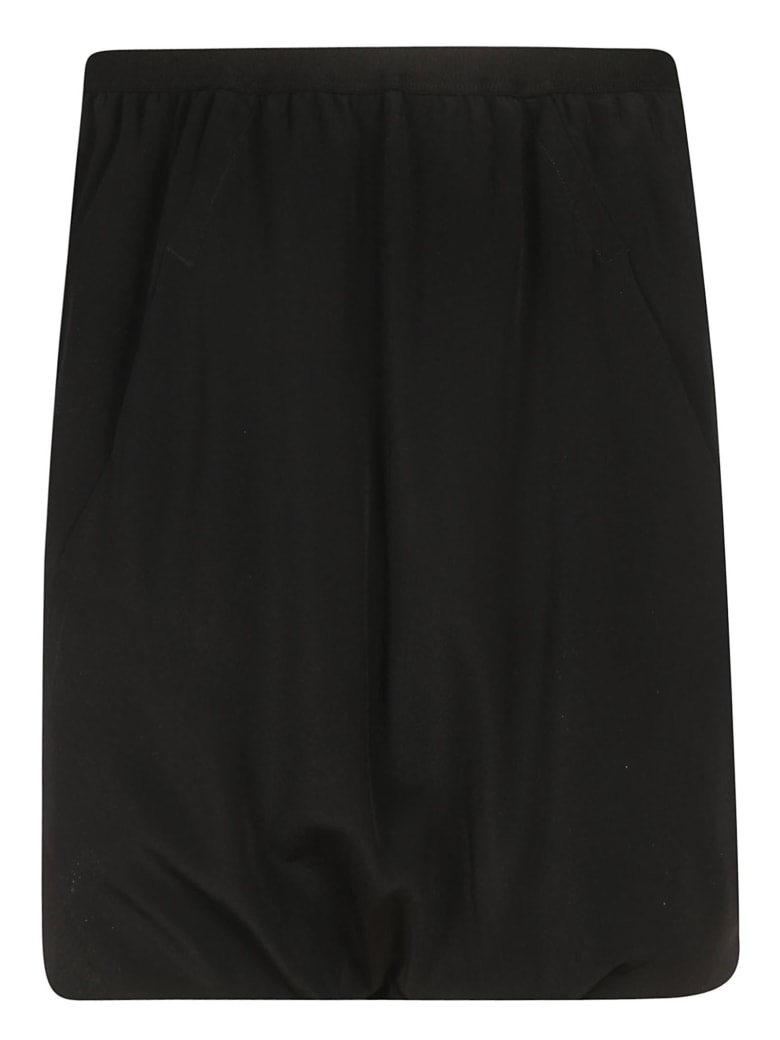 Rick Owens Ruffled Skirt - black