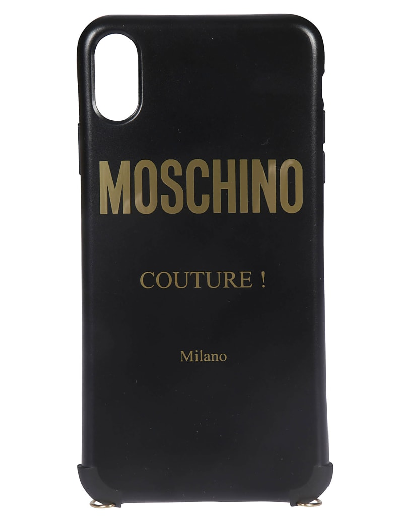 Moschino Logo Iphone Xr Cover - Black