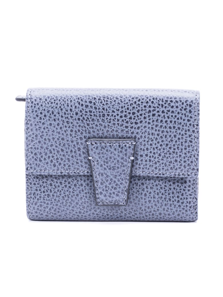 Gianni Chiarini Leather Wallet - BLUE JEANS