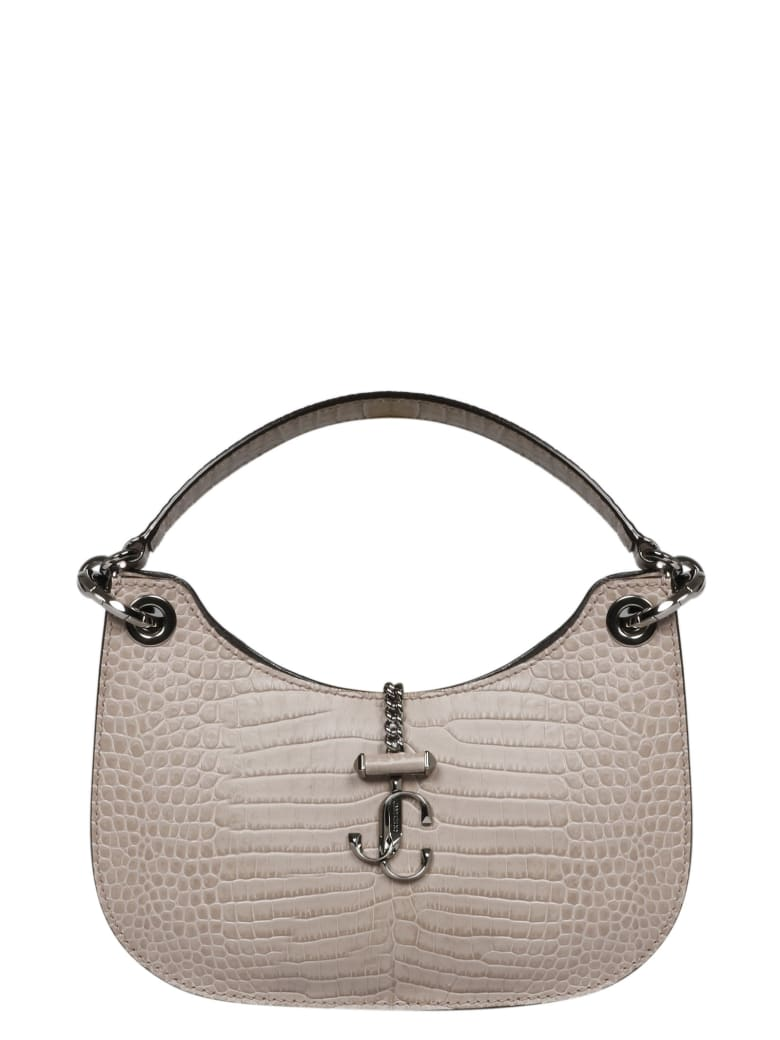 Jimmy Choo Varenne Hobo Bag - Pink & Purple