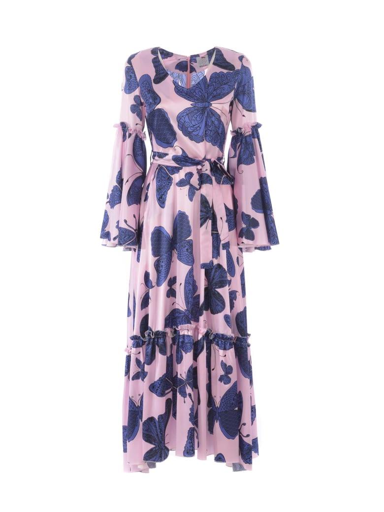 Ultrachic Dress - Rosa/blu