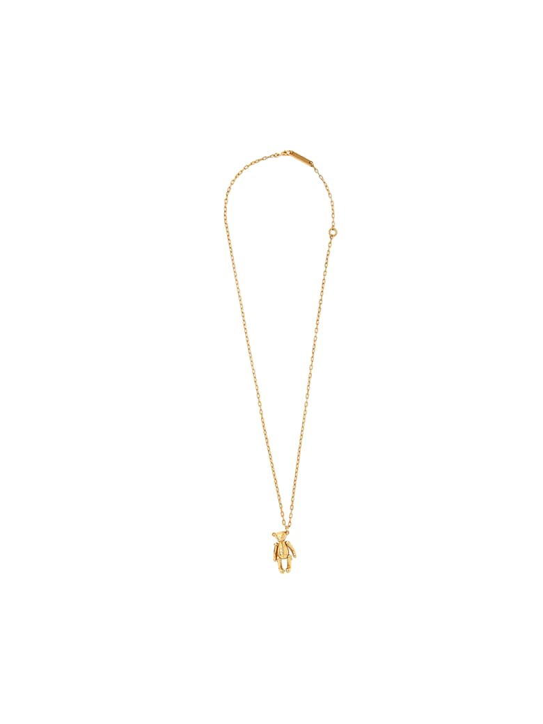 AMBUSH Teddy Bear Necklace - Gold