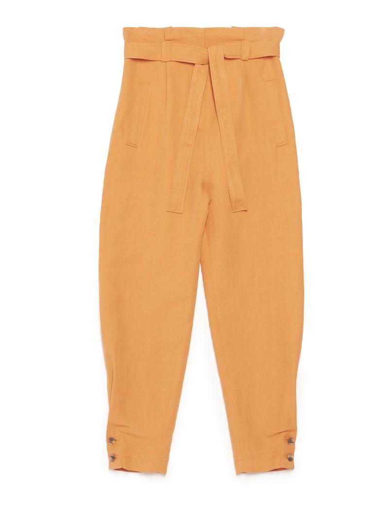 Alberta Ferretti Pants - Orange