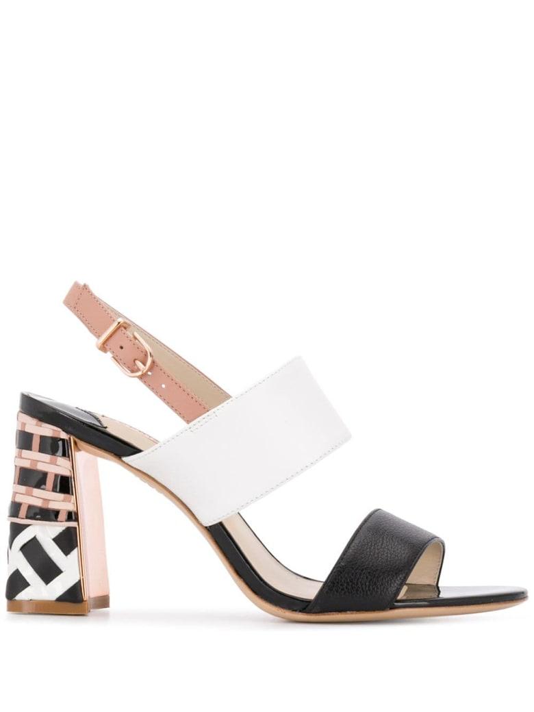Sophia Webster Celia Mid Sandals - Black Neutral