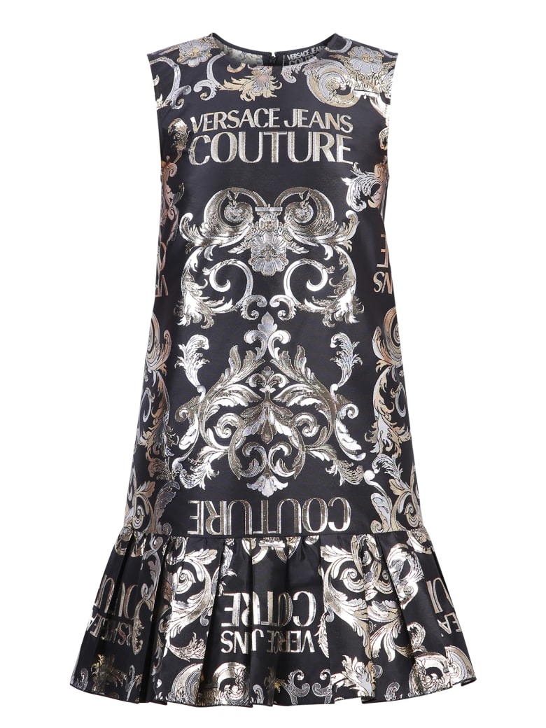 Versace Jeans Couture Branded Dress - Black
