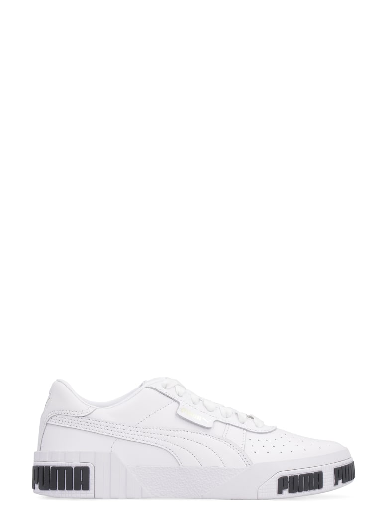 Puma Cali Bold Leather Sneakers - White