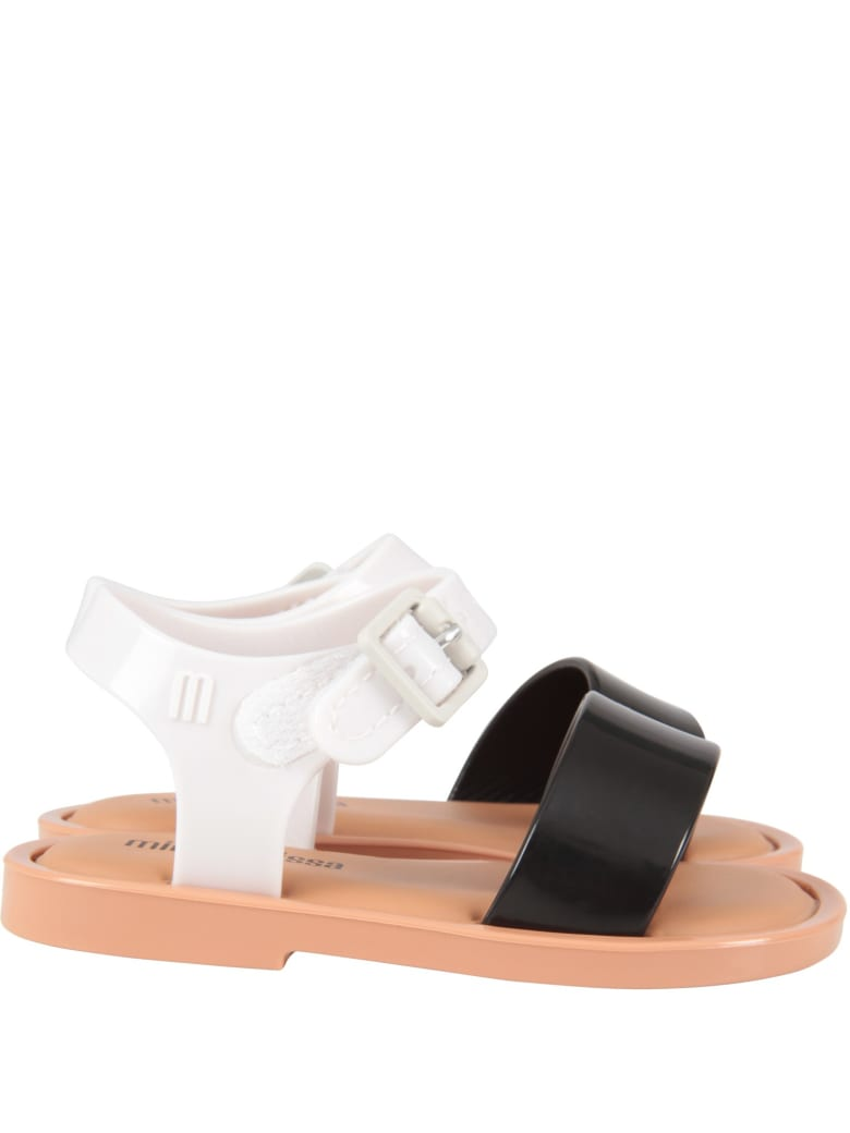 Melissa Multicolor Sandals For Girl - Multicolor