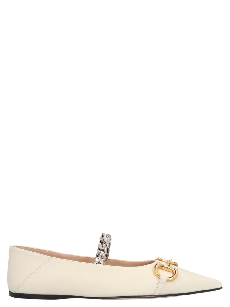Gucci 'deva' Shoes - Dusty White