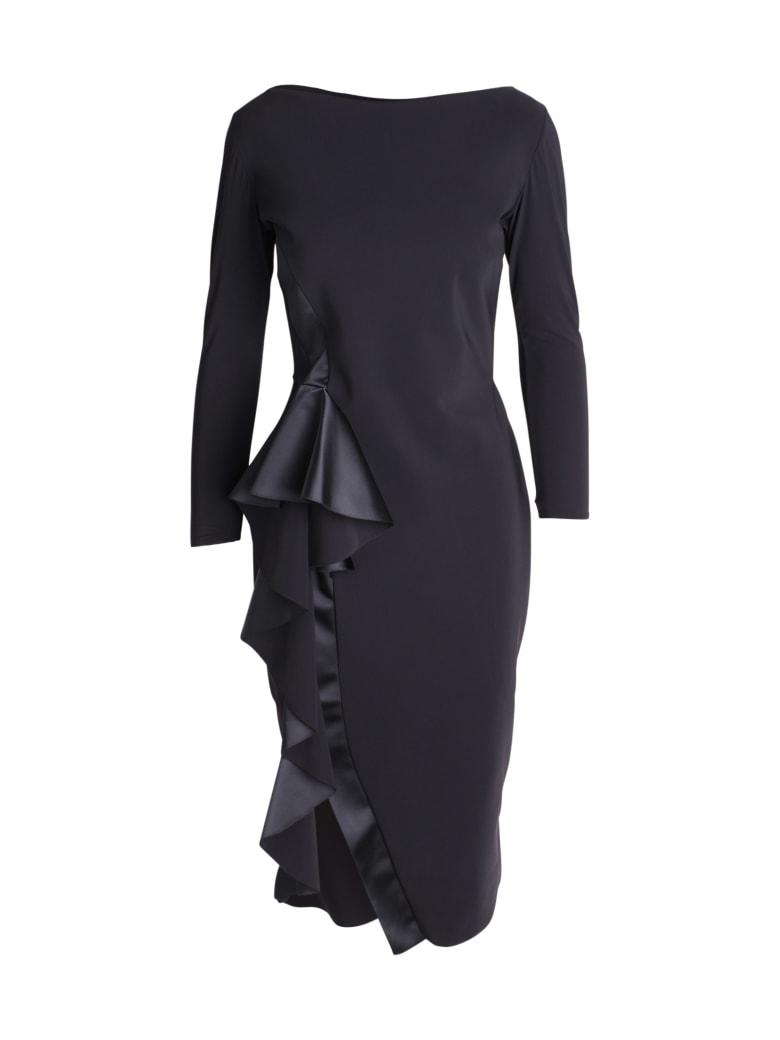 La Petit Robe Di Chiara Boni Le Petite Robe By Chiara Boni 'ezra Ra' Polyamide Dress - Black