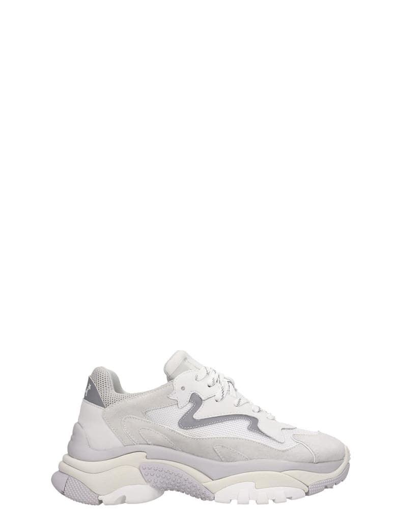 Ash Addict Bis 03 Sneakers In White Tech/synthetic - white