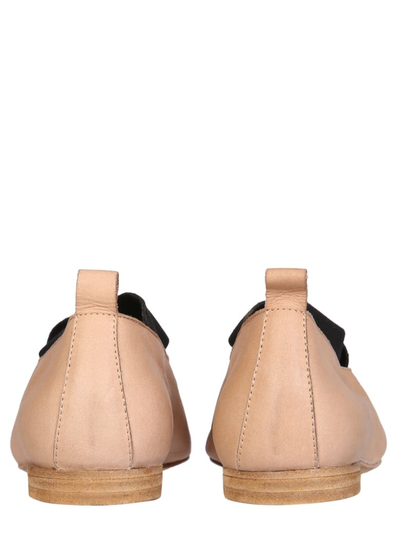 Uma Wang Leather Ballerinas - Rosa e Nero