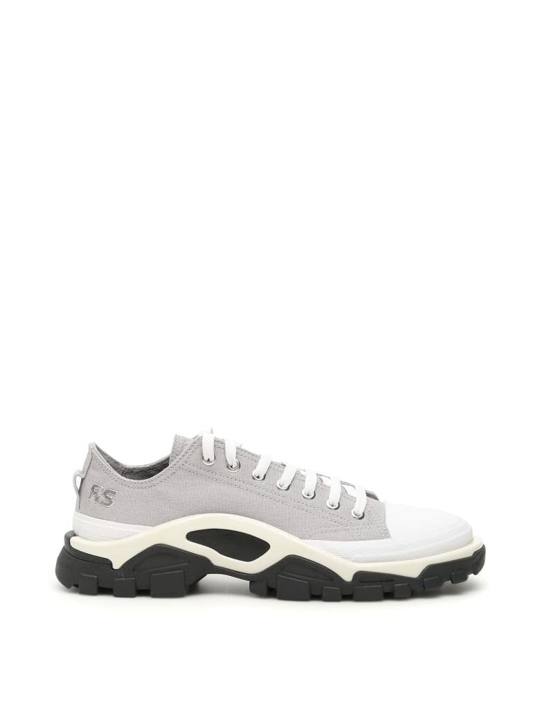 Adidas By Raf Simons Unisex Rs Detroit Runner Sneakers - LGRANI SILVMT CWHITE (Grey)