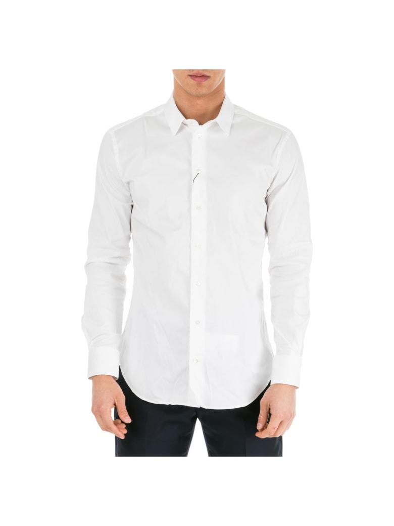 new products d2c3b 08db3 Best price on the market at italist   Emporio Armani Emporio Armani  Herrenhemd Hemd Herren Langarm Langarmhemd Slim Fit