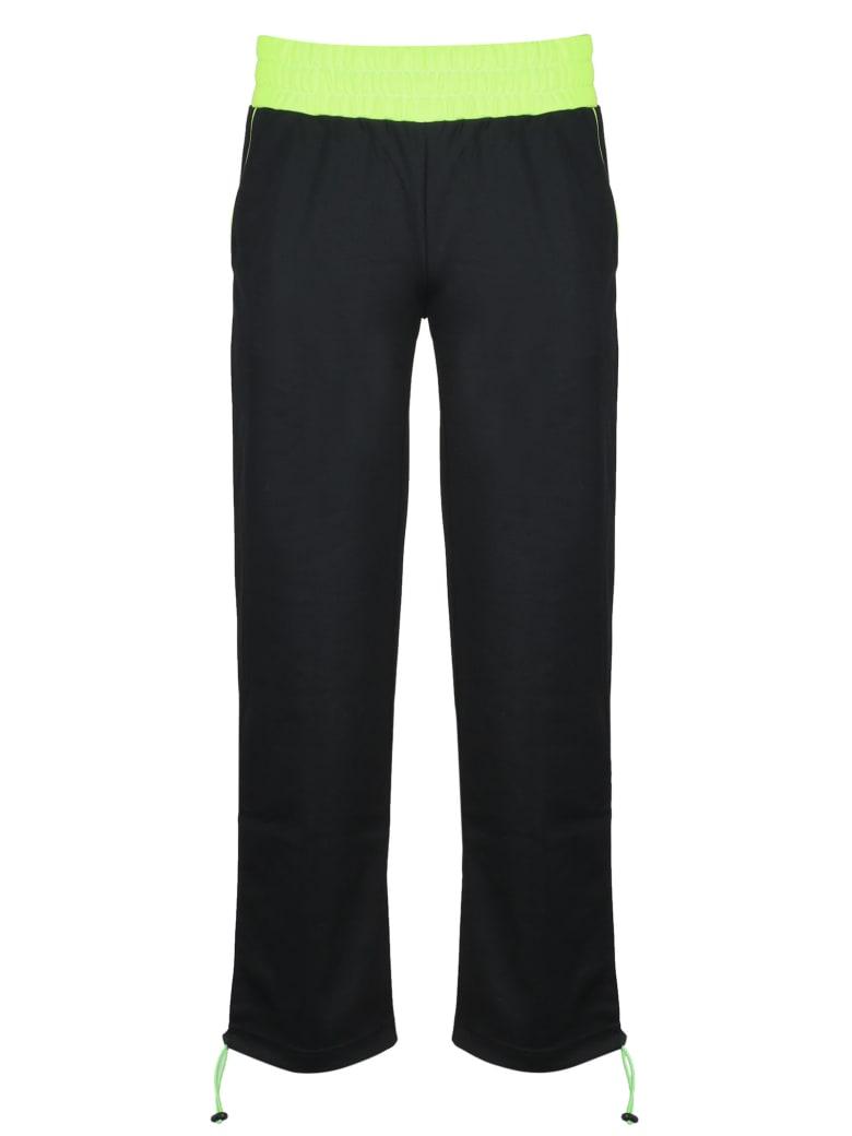 GCDS Wide Tracksuit Pants - Black