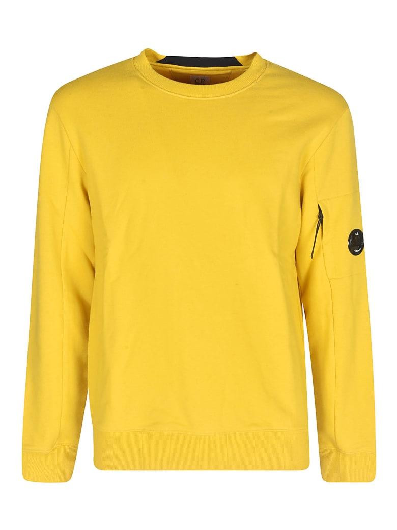 C.P. Company Diagonal Raised Fleece Sweatshirt - Giallo