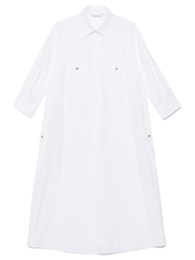 Max Mara 'vibo' Dress - White