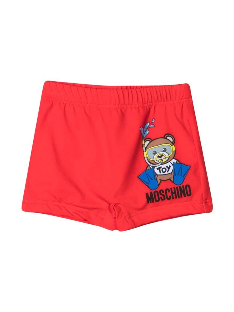 Moschino Red Swimsuit - Rossa