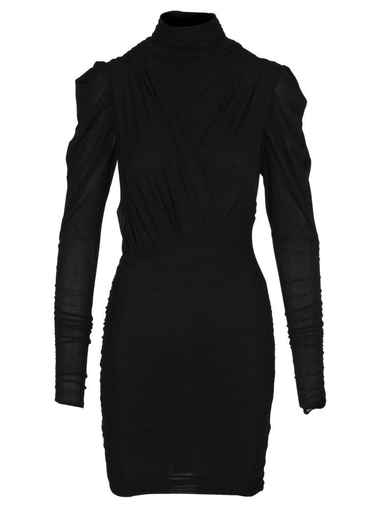 Isabel Marant Jisola Dress - BLACK