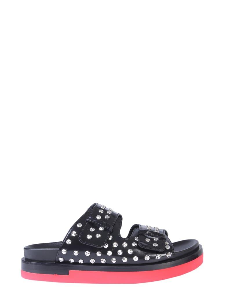 Alexander McQueen Sandal With Studs - NERO