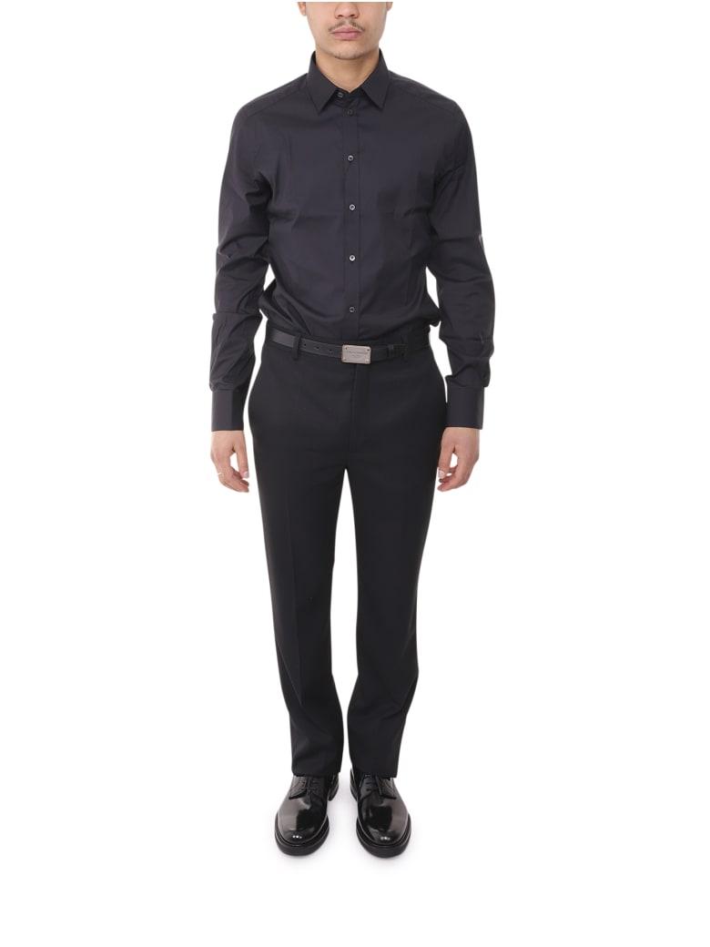 Dolce & Gabbana Black Gold Shirt - Black