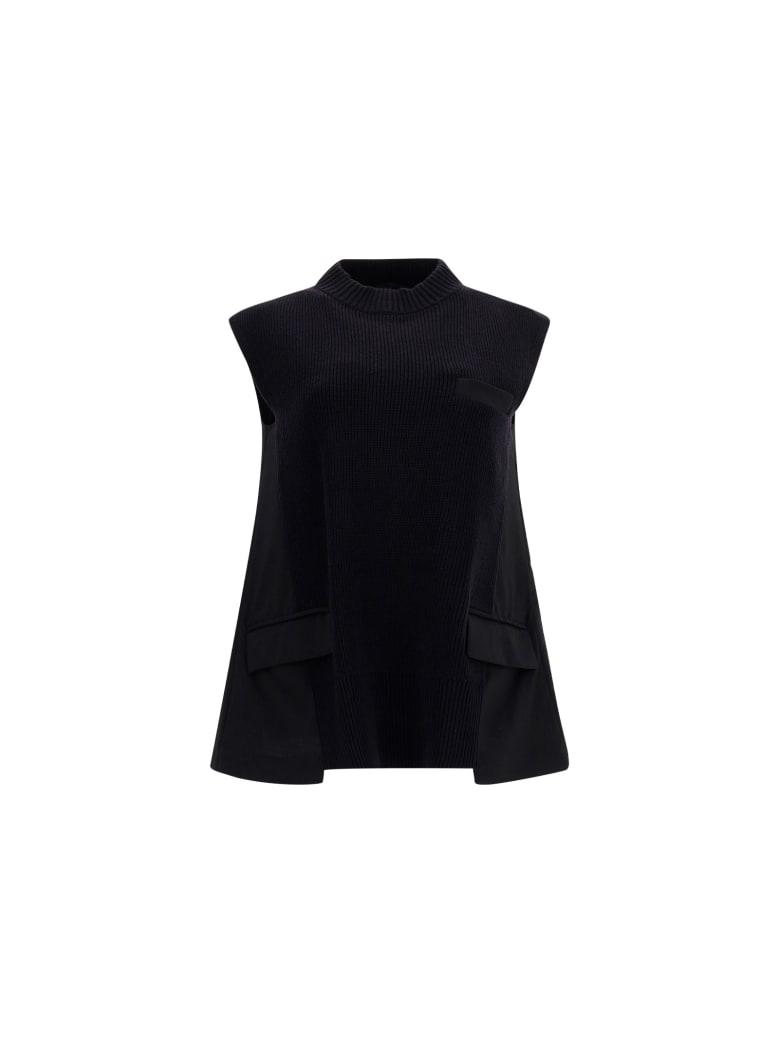 Sacai Pullover - Black